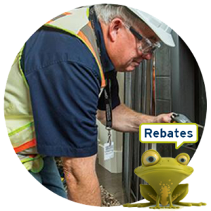 Appliance maintenance rebates